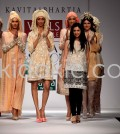 Kavita Bhartia at Wills Lifestyle India Fashion Week SS'13