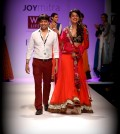JoyMitra for Wills Lifestyle India Fashion Week AW13- akkidokie