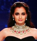 Dia Mirza at India International Jewelry week 2012 - akkidokie.com