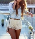 Summer Wardrobe Essential: Lace Shorts!