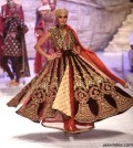Seen at India Bridal Fashion Week Delhi 2013 - JJ Valaya's Opening Show - Maharaja of Madrid (14)