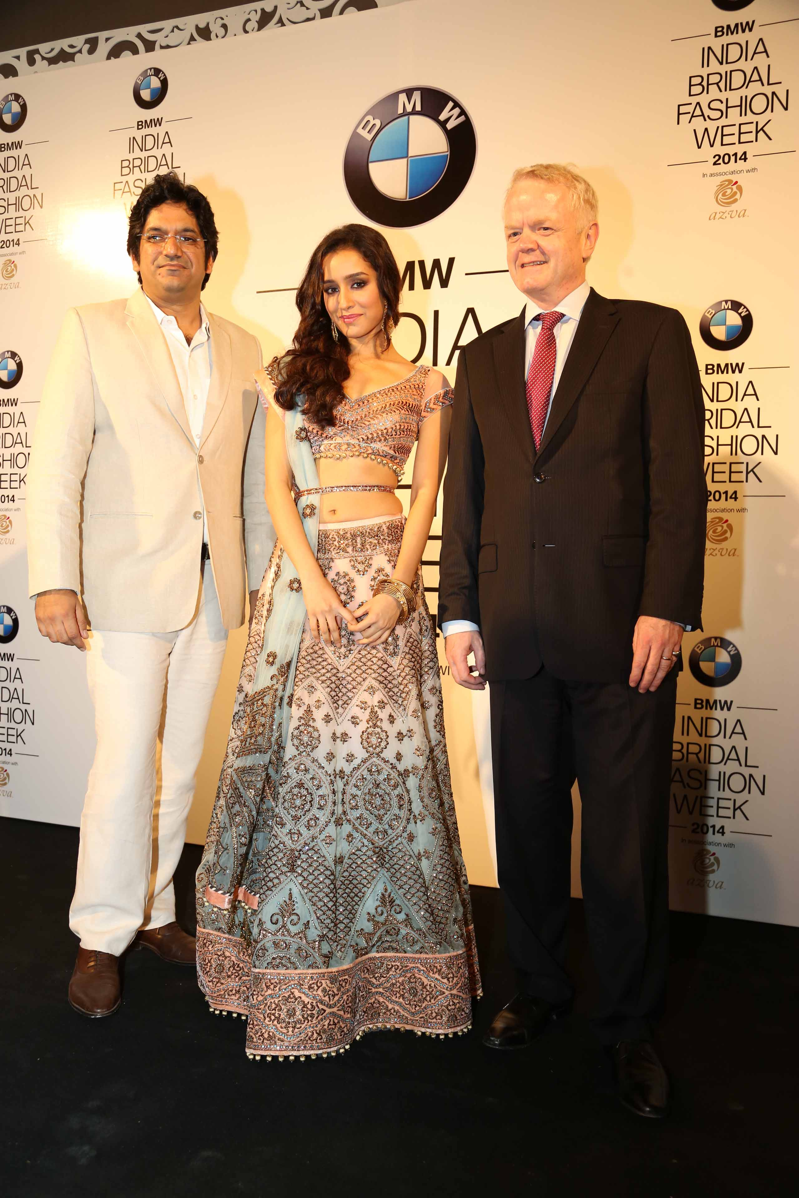 BMW  India Bridal Fashion Week  2014 in assocation with AZVA at DLF Emporio (177)