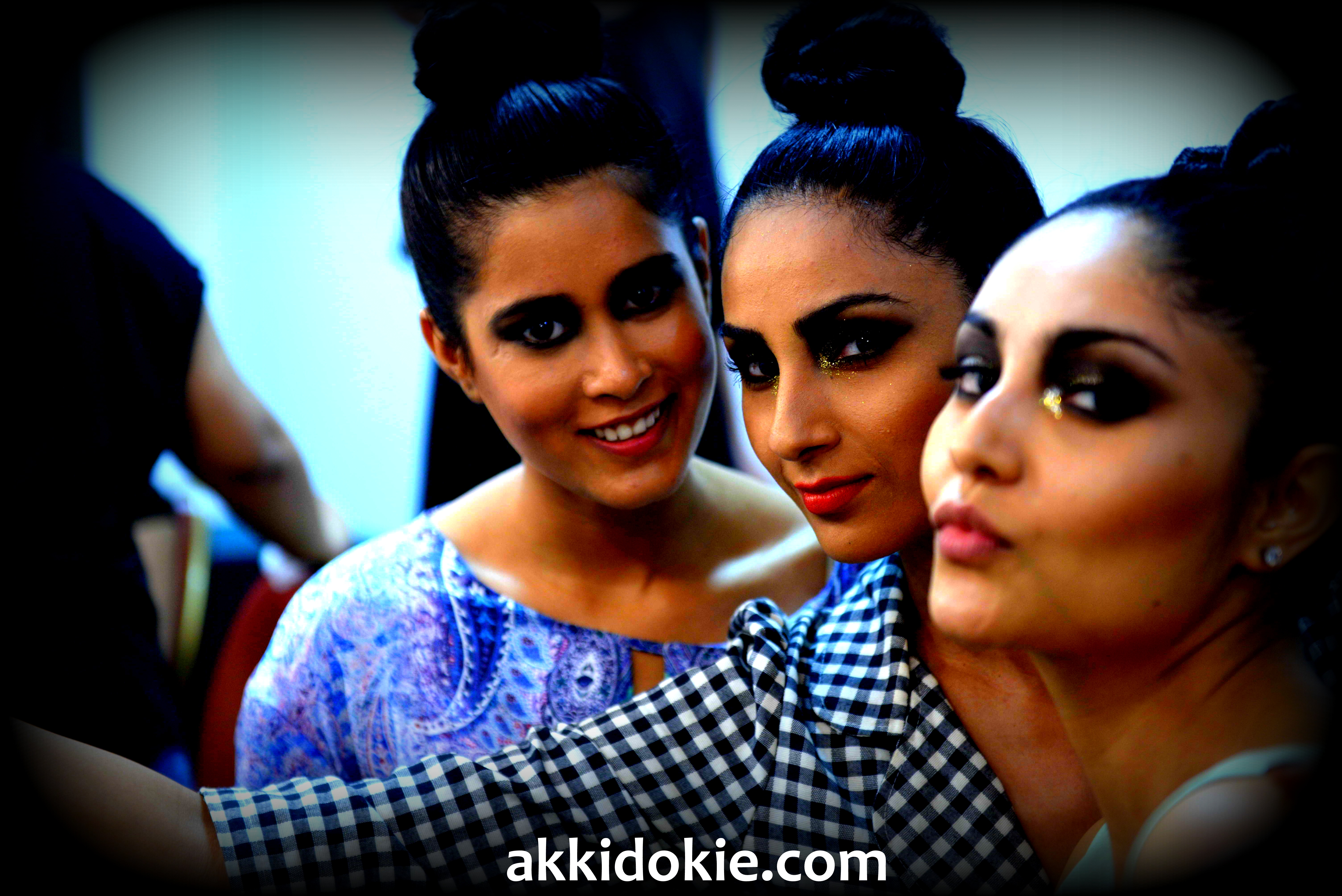 Exclusive backstage pics from Myntra Fashion Weekend 2014