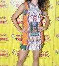 Kangna in a printed dress