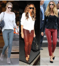 ways to style leather pant like a celeb