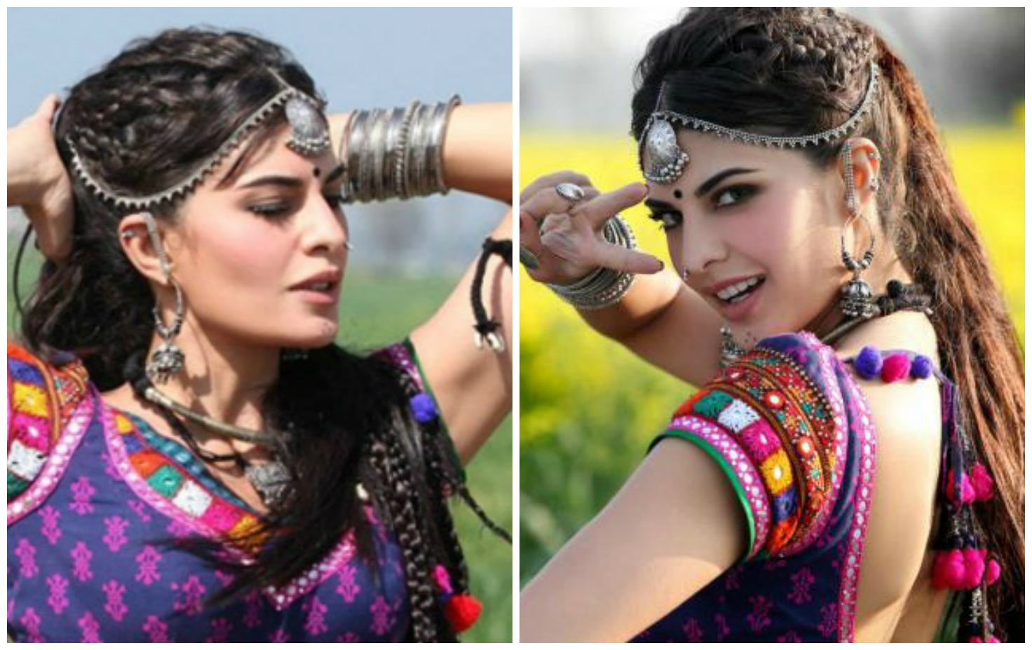 Image result for Make classy hairstyles during garba