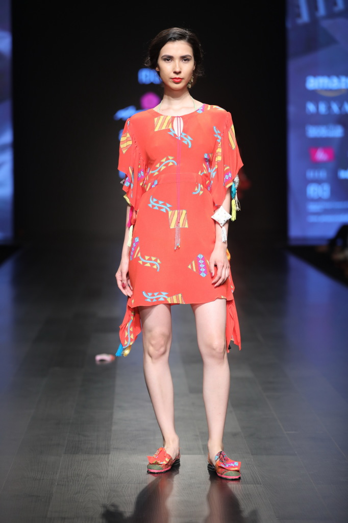 Anupama Dayal presents autum winter collection at FDCI AIFW AW 2018 (2)