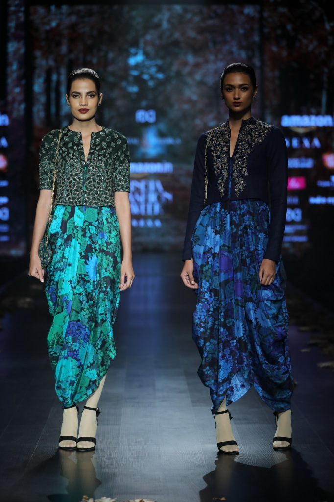 Shyamal and Bhumika showcased autumn winter collection at FDCI AIFW AW 2018 (5)